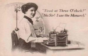 typewriter advertisement